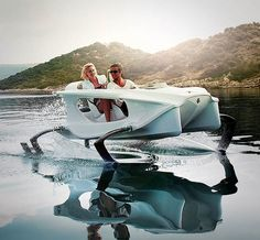 The first all-electric hydrofoiling personal watercraft on the planet, the QuadroFoil was built for speed and a smooth ride, making it sort of like a Maserati for the water.