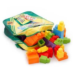 Crayola Building Blocks and Backpack for Kids