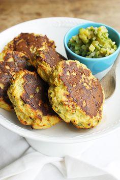 Bolinhos Assados de Batata-doce + Relish de Abobrinha | Blog Figos e Funghis