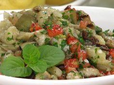 Recetas | Ensalada de berenjenas, tomates y aceitunas | Utilisima.com
