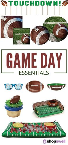 Everything you need to create a Super Bowl party your friends will talk about years from now, including Shark sunglasses. What else could you need?!