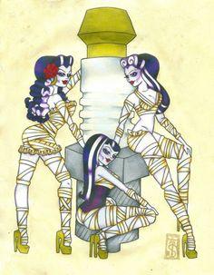 Girlfriends of Frankenstein by Danger S. Jones