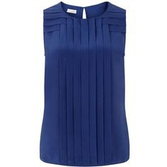 The Ondine sandwashed silk top is an architecturally inspired design, with structured pin-tuck detail to distinguish the look. Sleeveless with a fluid drape, t…