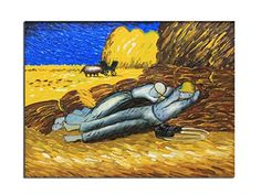 Muzagroo Art Hand Painted Oil Paintings Museum Quality Art on Canvas Stretched Ready to Hang Good Gift Van Gogh Afternoon Nap Reproduction – Wall's Furniture & Decor Afternoon Nap, Best Oils, Oil Painting Reproductions, Van Gogh, Furniture Decor, Canvas Art, Museum, Hand Painted, Oil Paintings