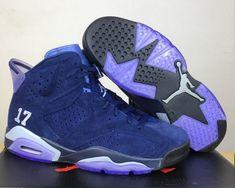 9627878aaa5 Air Jordan 6 UNC Black University Blue 384664-006 For Sale   Nike ...