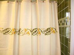 art nouveau shower curtain | house
