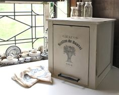 bad rabbit vintage - painted furniture with attitude : Thinking small ..... and gray