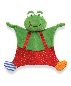 Look at this #zulilyfind! Sock Hop Small Crinkle Buddy Plush Toy #zulilyfinds