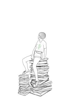 Discover the coolest #books #stackofbook #pclifestyle #abstractart #digitalart #outline #minimalistic #awesome #remix #madewithpicsart #myimaginaryfriend #dcmyi