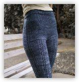 Kalaloch leggings from Andrea Rangel Knits