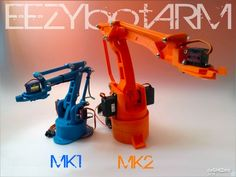 This is a four axis 3D printed robotic Arm. It follows the success of my previous smaller one: the EEZYbotARM so I simply...