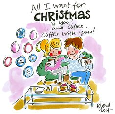 All I want for Christmas is you and coffee! by Blond-Amsterdam