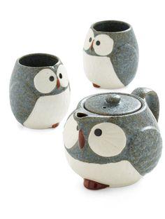 cutest little tea set