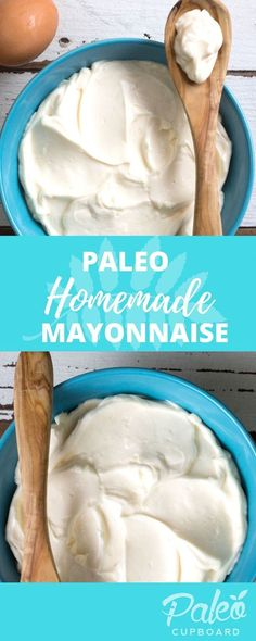 Easy Paleo Mayonnais Easy Paleo Mayonnaise Recipe https://www.pinterest.com/pin/113012271883539179/