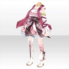 Anime Outfits, Girl Outfits, Fashion Outfits, Character Costumes, Character Outfits, Adventure Outfit, Drawing Anime Clothes, Female Character Inspiration, Anime Dress