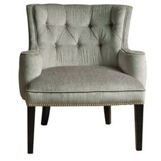 Crestview Collections Fifth Ave Textured Silver Nailhead Chairs