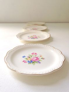 Mid Century Creamware Bread and Butter Plate / by MariasFarmhouse