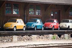 Fiat 500 - Smarties von Matthias Zipp