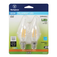 Replacement for Westinghouse 9household//27//cd Light Bulb 2 Pack