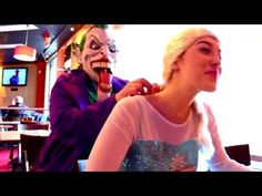 Superhero Fun in Real Life Spiderman, Frozen Elsa & Click http://www.youtube.com/watch?v=Grape62UXHc