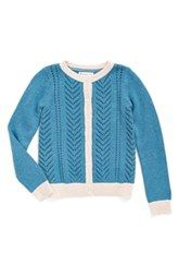 Tucker + Tate Lace Stitch Cardigan (Toddler Girls, Little Girls & Big Girls)