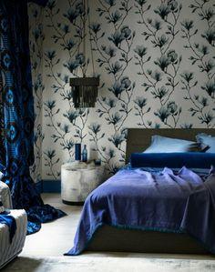 wandgestaltung ideen einrichtungstipps schlafzimmer wandtapeten
