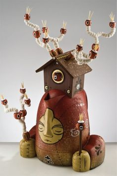 Toy art sculpture