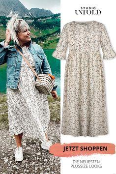 MISS VIA leichtes doppellagiges Kleid in gerader Form