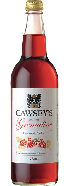 Cawsey's Grenadine: Guess I should try it some day!