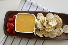 **Start to Finish**: 20 minutes**Servings**: Makes around 4 to 4 1/2 cups, or approximately 36 to 40 (2 tablespoon) servings **Difficulty Level**: BeginnerA delicious dip that can be whipped up in a pinch, Velveeta and Rotel cheese dip paired with chips, crackers or fresh veggies makes a perfect snack for parties and potlucks. Adapted from...