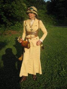 What Shoes Go With Steampunk Safari Dress