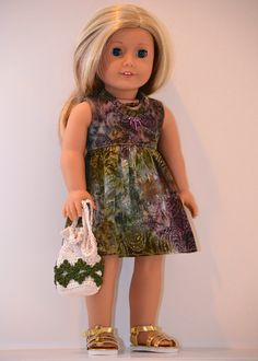 18 inch American Girl Doll Clothing. Scoop neck by Simply18Inches