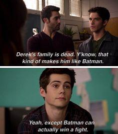 Teen Wolf Scott, Stiles & Derek|oooOOOOOOOooooh BURN (LITERALLY)