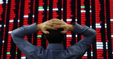 World stock markets nosedived for a fourth day running on Tuesday, having seen $4 trillion wiped off from what just eight days ago had been record high values.