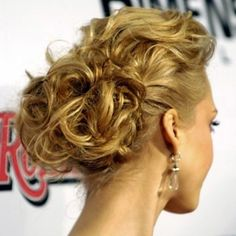 updos for curly hair - Ideas for Libby