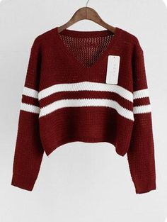 cropped knit sweater with oversized look. Made with a blend of cotton & polyester. Onesize fits most, measures: Bust 40 inches, Length 15 inches. Ships from New York.