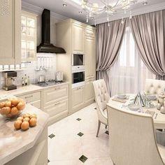 Why You Should Consider Renovating Your Kitchen – Home Dcorz Apartment Kitchen, Home Decor Kitchen, Kitchen Furniture, Kitchen Ideas, Fancy Kitchens, Luxury Kitchens, Interior Design Trends, Interior Design Kitchen, Cuisines Design