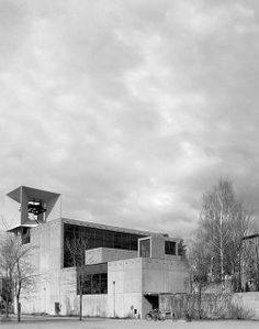 Church in Järvenpää (Finland), by Erkki Elomaa Archi Design, Multi Story Building, Floor Plans, Architecture, Twitter, Collection, Architects, Finland, Arquitetura