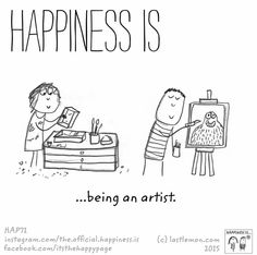 Happiness is the creation of awesome living pictures!