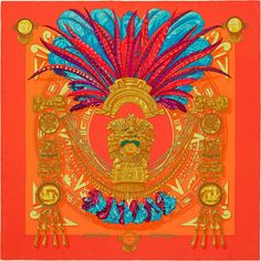 e1fedd721f60 La Maison des Carrés Hermès Mexique Chic Ete, Carré Hermes, Rosace, Foulards