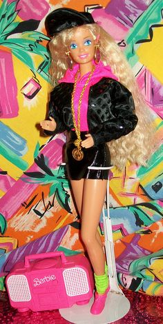 Rappin' Rockin Barbie. Still have her, also! Ok, I'll stop now... Haha! :)
