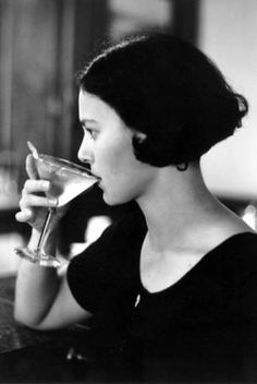 "Dorothy Parker (1893-1967) ""I like to have a martini, Two at the very most. After three I'm under the table, after four I'm under my host."""