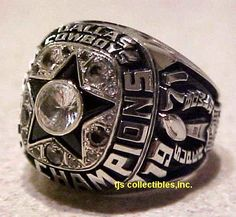 1971 DALLAS COWBOYS SUPER BOWL VI CHAMPIONSHIP RING
