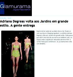 Falta pouco para Adriana Degreas voltar aos Jardins em grande estilo