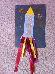 Bonfire night rocket
