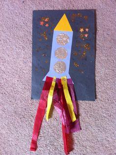 Bonfire night rocket