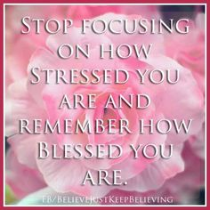 Stress..