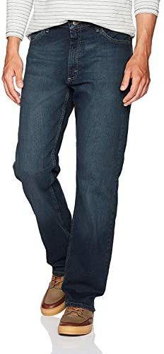 Wrangler Authentics Mens Big /& Tall Classic 5-Pocket Relaxed Fit Flex Jean