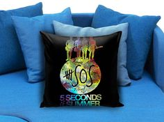 5SOS Seconds Of Summer Pillow case #pillow #case #pillowcase #custompillow #custom