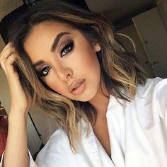 La Vie: Maquiagem em tons de marrom